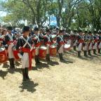 Homenaje al ejercito Argentino.