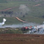 Informes: Israel ataca objetivos en Siria,y el Líbano en dos ataques separados.