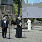 El rabino estaba detrás del encuentro entre el Papa y polacos Los equipos de rescate Durante Auschwitz Visita.