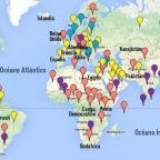 """Vladimir Putin: """"Publicar un mapa del mundo y la marca de todas las bases militares de los EEUU en él."""