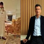 Macri recibió en Olivos a un rabino experto en la cábala.